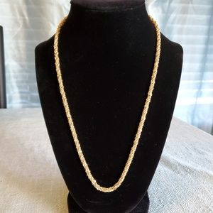 Monet Gold and Silvertone Chain